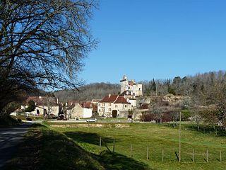 Saint-Georges-de-Montclard Commune in Nouvelle-Aquitaine, France