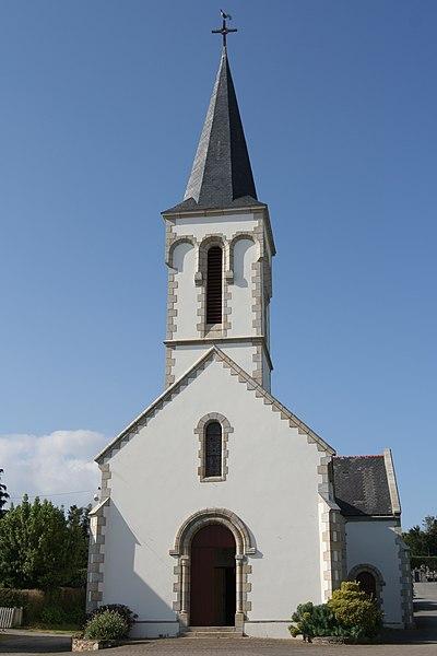 Église Saint-Marcel de Saint-Marcel.