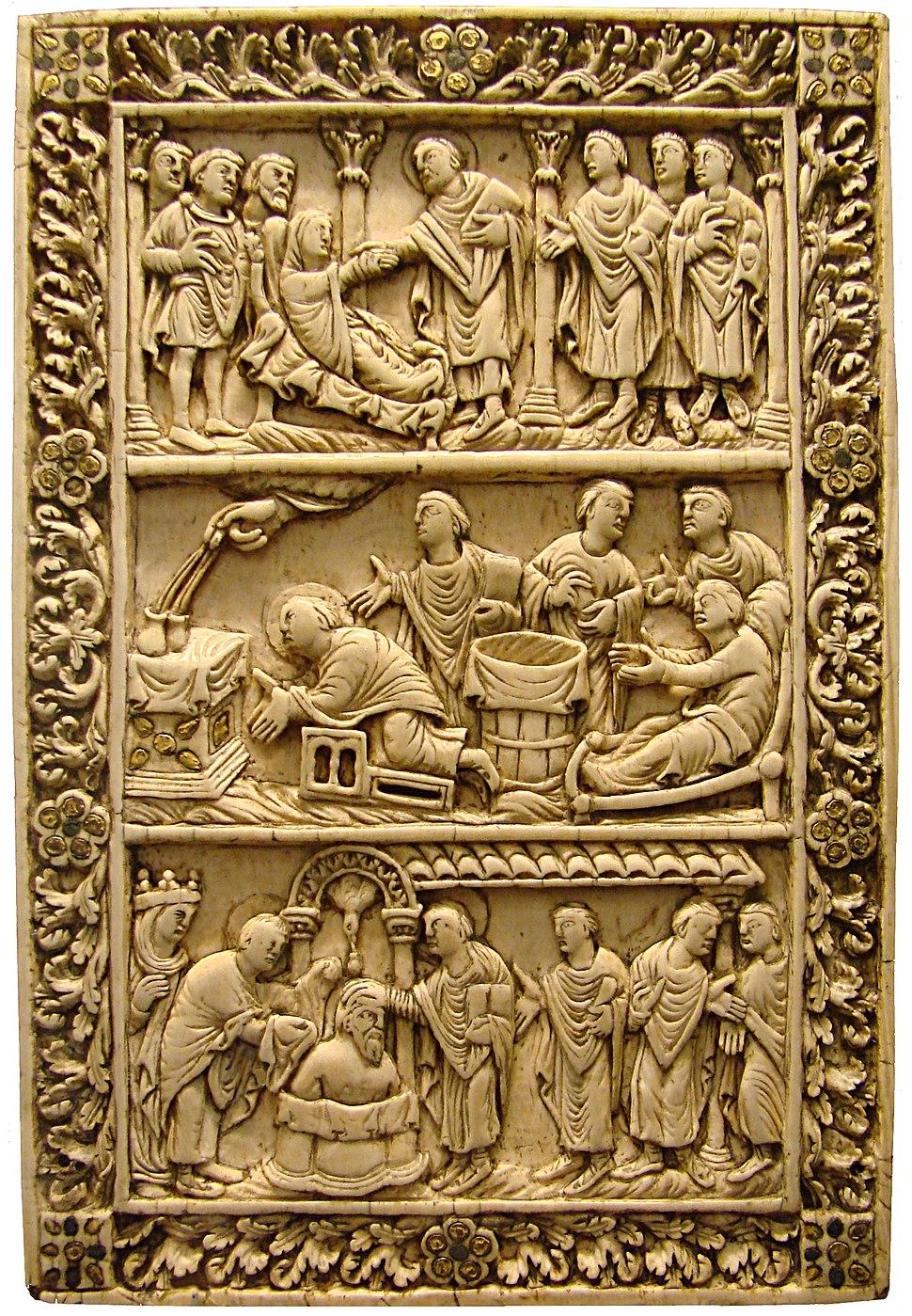 Saint Remigius binding Medieval Picardie Museum