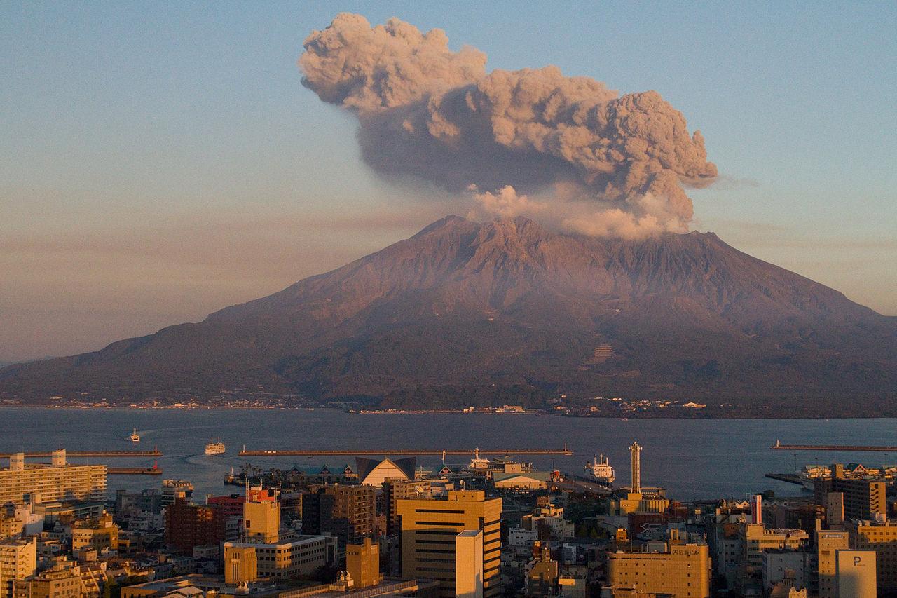 Volcano Japan