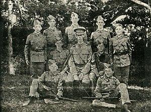 Bermuda Cadet Corps - Cadet Corps (Saltus Grammar School), ca. 1901