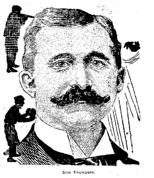 Sam Thompson - Thompson in 1908