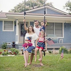 Sam and Nia Rader Family by Matthew T Rader