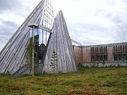 Samediggi - the Sami Parliament in Karasjok.