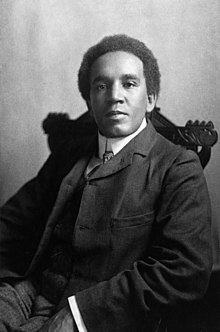 Samuel Coleridge-Taylor in 1905.
