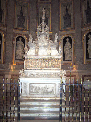 Guglielmo Agnelli - Shrine of St. Dominic, Basilica of St. Dominic, Bologna