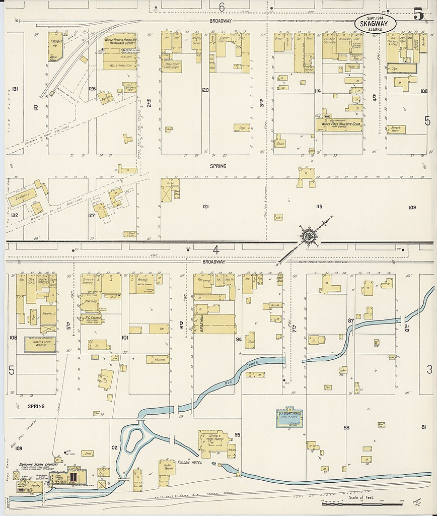 File:Sanborn Fire Insurance Map from Skagway, Skagway-yakutat Census ...