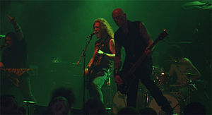 Sanctity (band) - Sanctity, live in Oslo, Norway in 2007.