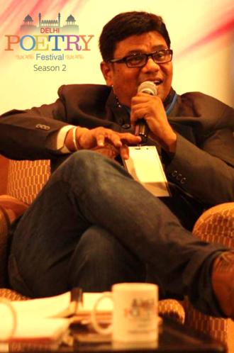 Sandeep Nath - Sandeep Nath at Delhi Poetry Festival - Season II on 12 January 2014 New Delhi