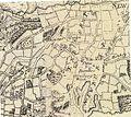 Sandleford; Newbury Wash; Enborne Wash; and East Enborne, from the John Rocque map of Berkshire, 1761.jpg