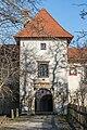 Sankt Veit Wayer Strasse 19 Schloss Weyer Hauptportal mit ehem Zugbruecke 14122016 4646.jpg
