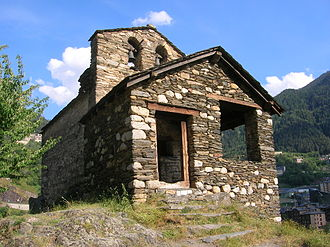 Les Bons - The 12th-century Romanesque church of Sant Romà de les Bons