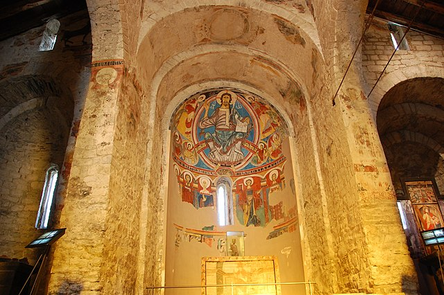 Església de Sant Climent de Taüll. Imatge de domini públic. Wikimedia Commons