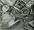 Santa-Rita, Perspetiva dinâmica de um quarto ao acordar, 1912, óleo sobre tela.jpg