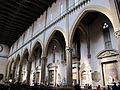 Santa croce, int., navata 01.JPG