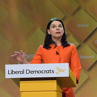Sarah Olney British politician