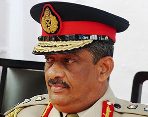 Chief of the Defence Staff (Sri Lanka) - Image: Sarath Fonseka at Ananda