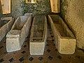 Sarcophagi in the Museum of Montrichard Castle.jpg