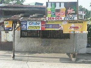 Sari-sari store - Privilege signage on a sari-sari store in Quezon City