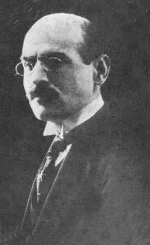 Sati' al-Husri - Portrait of Sati al-Husri, 1918-20