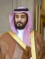 Saudi Defense Minister Mohammed bin Salman Al Saud to the Pentagon, May 13, 2015 150513-D-NI589-527c (cropped).jpg