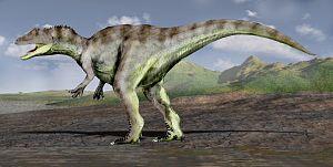 Saurophaganax - Life restoration