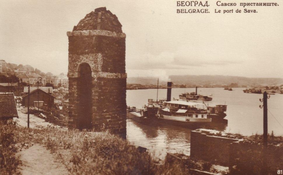 Savsko pristanište, 1925. godine