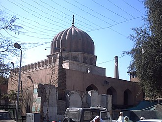 Mazar (mausoleum) - The Mashhad of Sayyida Ruqayya, a patron saint of Cairo