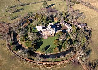 Scaleby Castle In Cumbria, England