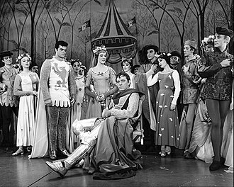 Robert Goulet - Scene from the musical Camelot