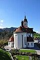 Schindellegi - St. Anna Kirche - Etzel 2010-10-21 14-47-36.JPG