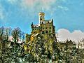Schloss Lichtenstein, nach leichtem Schneefall im März 2007 (8287622792).jpg