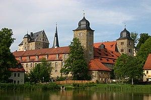 Forschungsinstitut für Musiktheater - Thurnau Castle, lakeside view