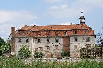 Barchfeld - Image: Schloss Wilhelmsburg, Barchfeld, 30. Mai 2012