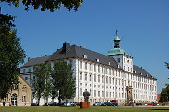 Gottorf Castle - Gottorf castle: View of the southern wing