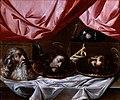 Schule von Sevilla, Die Köpfe der Märtyrer Paulus, Johannes der Täufer und Jakobus d.Ä..jpg