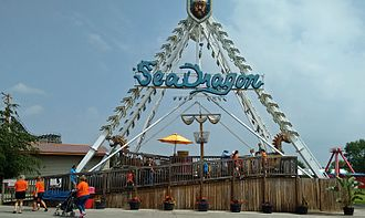 Beech Bend Park - The Sea Dragon ride from Michael Jackson's Neverland Ranch was installed at Beech Bend Park in 2009.