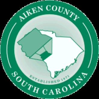 Aiken, South Carolina - Image: Seal of Aiken County, South Carolina