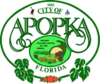 Official seal of Apopka, Florida