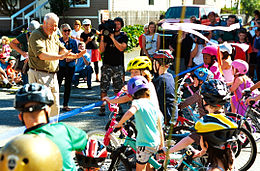 Seattle Mayor Mike McGinn at the Ballard Neighborhood Greenway Celebration.jpg