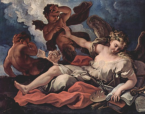 Sebastiano Ricci - Allegorie der Kunst