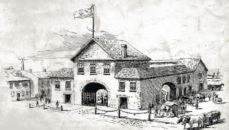 St. Lawrence Market North, 1831