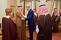 Secretary Kerry Greets Qatari Foreign Minister al-Attiyah Before Gulf Cooperation Council Meeting in Saudi Arabia (16535287890).jpg