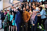 File:Secretary Kerry Takes 'Selfie' With Students at Climate Change Speech in Jakarta (12561262493).jpg
