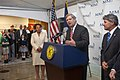 Secretary of Agriculture Tom Vilsack makes remarks on his visit to MMI, Inc., on Wednesday, May 1, 2013, in Kenner, LA.jpg