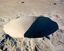 Nevada Test Site - Kráter Sedan
