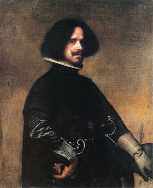 1643 in art - Image: Self portrait by Diego Velázquez