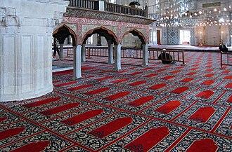 Selimiye Mosque - Image: Selimiye Mosque interior