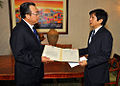 Senator Bongbong Marcos with Chinese Ambassador Lu Jian-chao.jpg