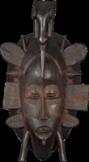 Senoufo mask-romanceor